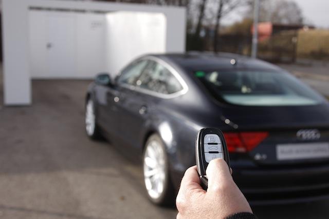 Audi active safety Parkpilot
