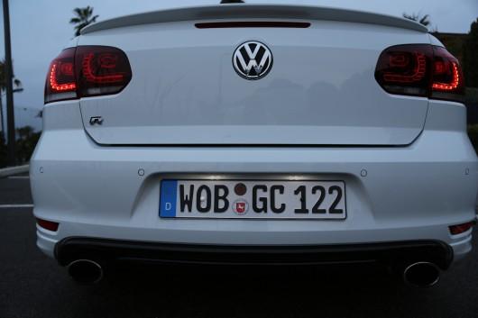 Golf R rear