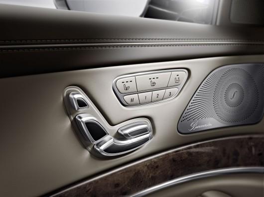 Sitzverstellung / Quelle: Daimler