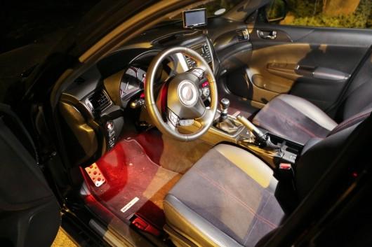 Subaru WRX Cockpit
