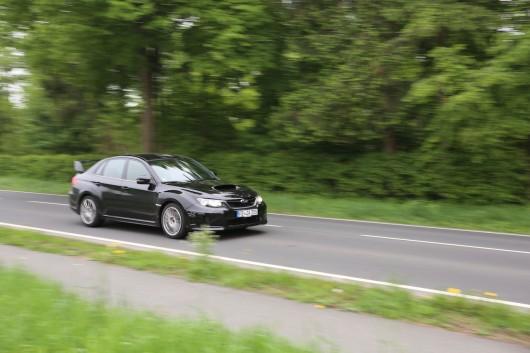 Subaru WRX Fahrt front
