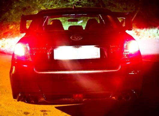 Subaru WRX Heck