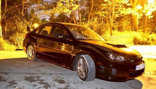 Subaru WRX nacht Titel