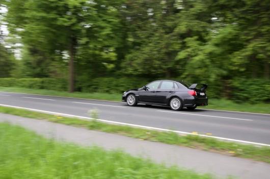 Subaru WRX seitlich