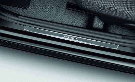 Toyota_Aygo_Einstiegsleiste_Aluminium