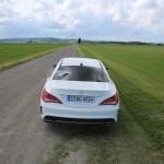 Heck Mercedes-Benz CLA45 AMG