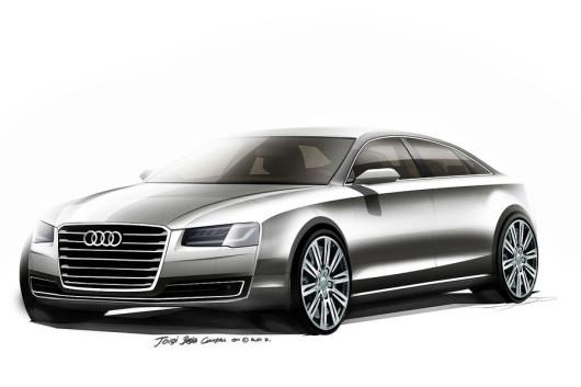 Audi-A8-Design-Zeichnung-2