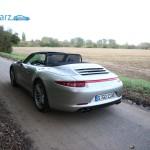 Porsche 911 Carrera 4 Cabriolet - Heck