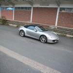 Porsche 911 Carrera 4 Cabriolet - Oben