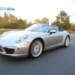 Porsche 911 Carrera 4 - Fahrtaufnahme vorne