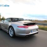 Porsche 911 - Carrera 4 - Allrad - offen - dynamische Fahrt
