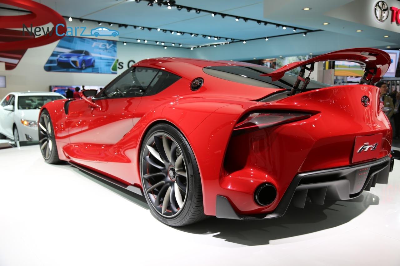 Designstudie Ft 1 Ausblick Auf Toyotas Sportwagen Design Newcarz De