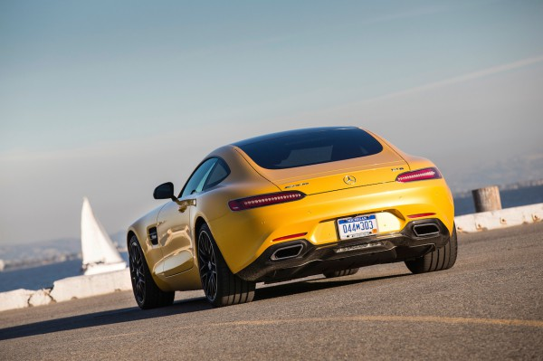 Driving Launch Mercedes AMG GT Laguna Seca 2014