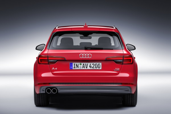Audi A4 Heck