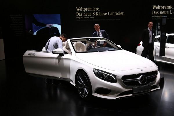 Mercedes S Cabriolet