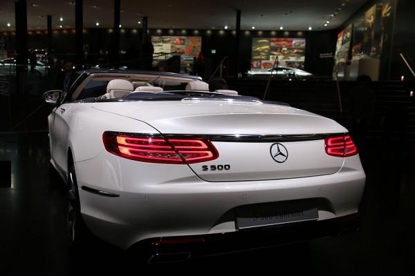 Mercedes S Cabriolet Heckansicht