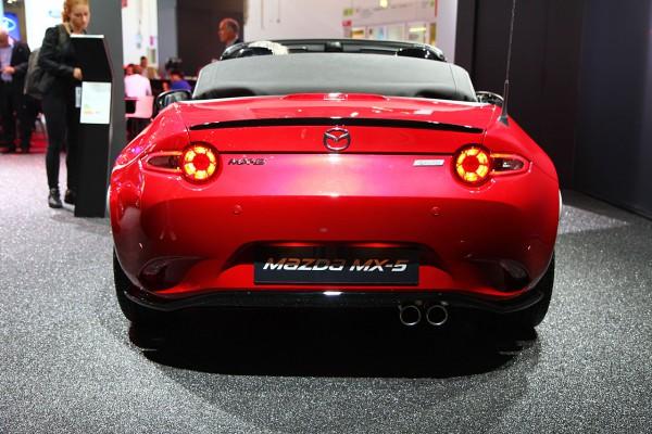 Mazda MX5 Heck