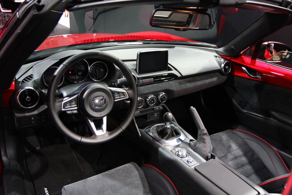 Mazda MX5 Interieur