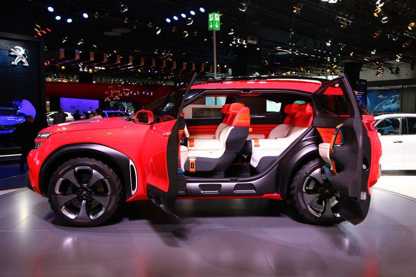 NewCarz-Citroen Aircross Concept 2