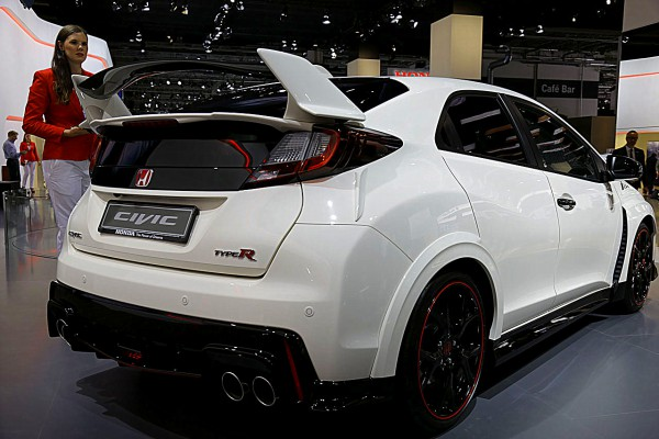 Honda Civic Type-R Heck