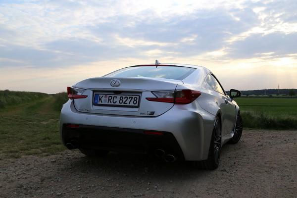 Lexus-RC-F Heck