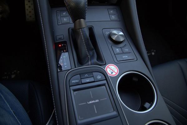 Lexus-RC-F Interieur