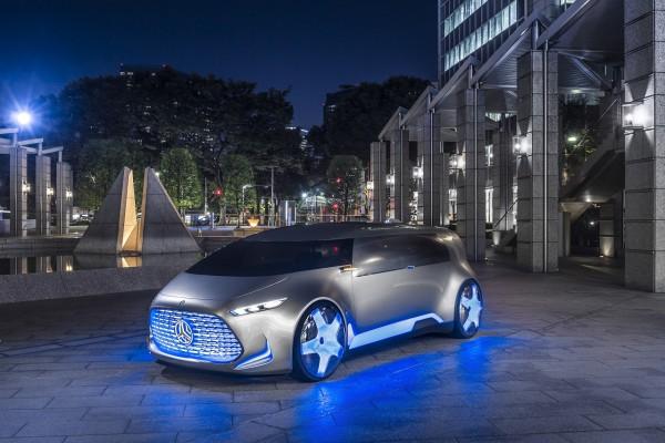 Futurismus pur - Der Vision Tokyo weckt Assoziationen an ein kleines Raumschiff