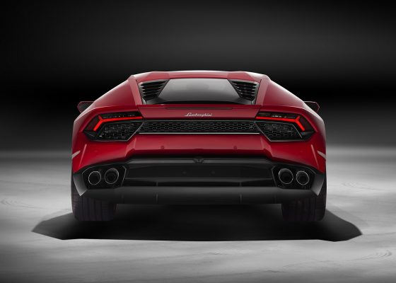 Lamborghini Huracan LP 580 Heck