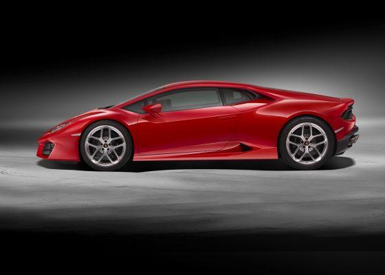 Lamborghini Huracan LP 580 Seite