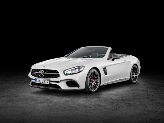 Mercedes-AMG SL 63 ( Studio), Diamantweiß Mercedes-AMG SL 63, diamond white