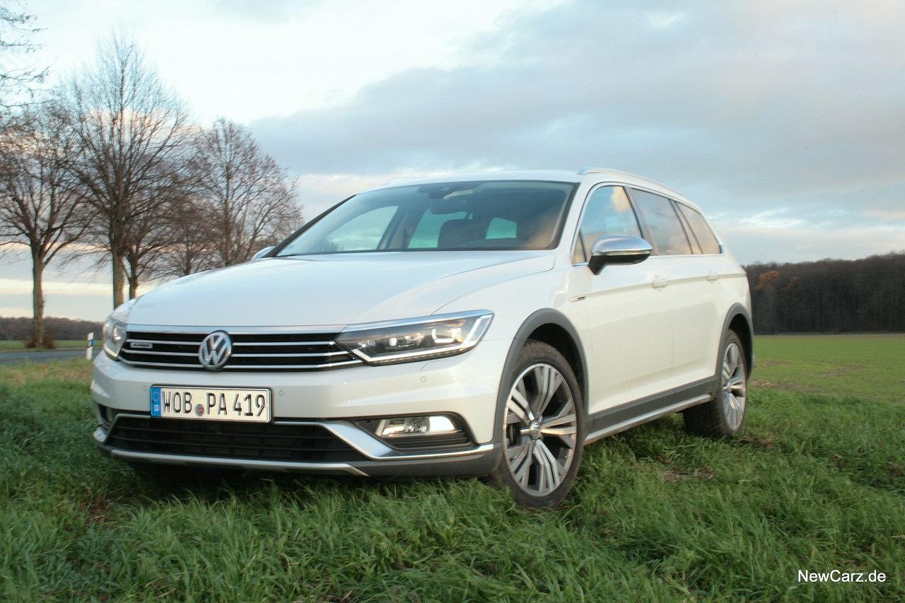 VW Passat Alltrack I Fahrbericht I NewCarz