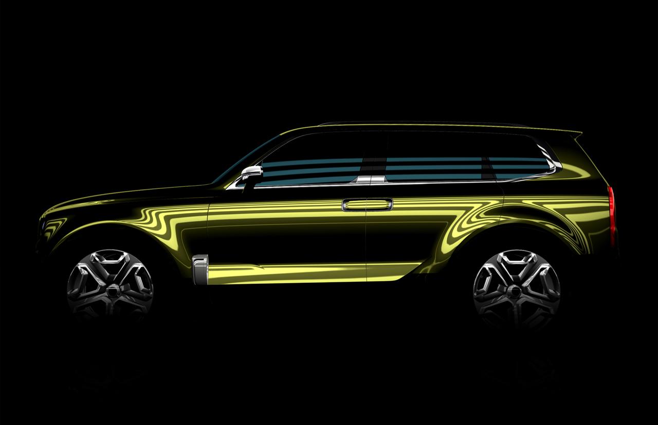 Eine neue Kia Studie wird auf der North American International Auto