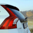 Gestatten: Volvo - Die Heckleuchten können die Herkunft am wenigsten verleugnen.