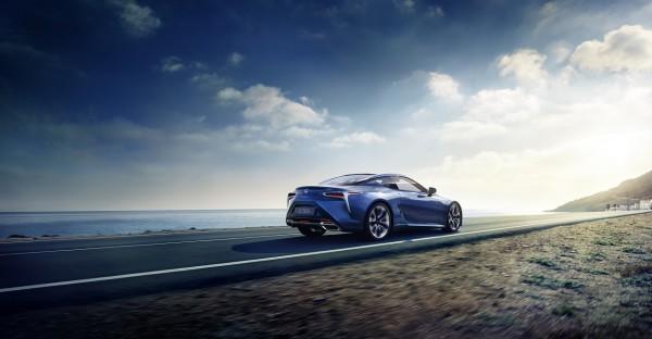 Knackig-extrovertiert - Der neue Lexus LC 500h