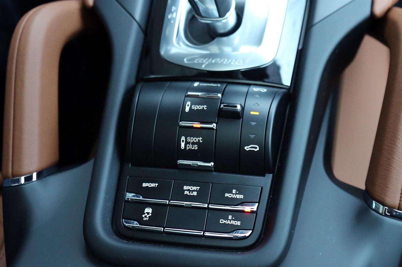 NewCarz Porsche Cayenne Fahrmodi