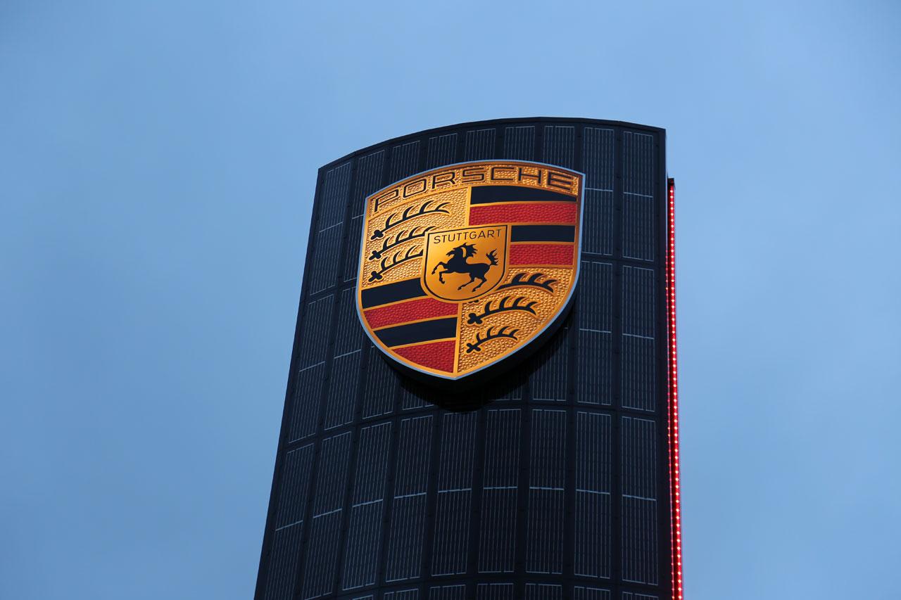 NewCarz Porsche Solarpylon