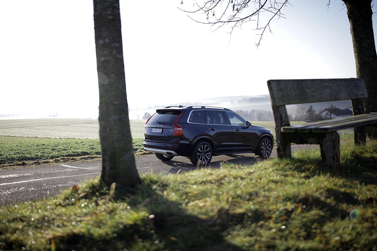 NewCarz Volvo XC90 im Nebel