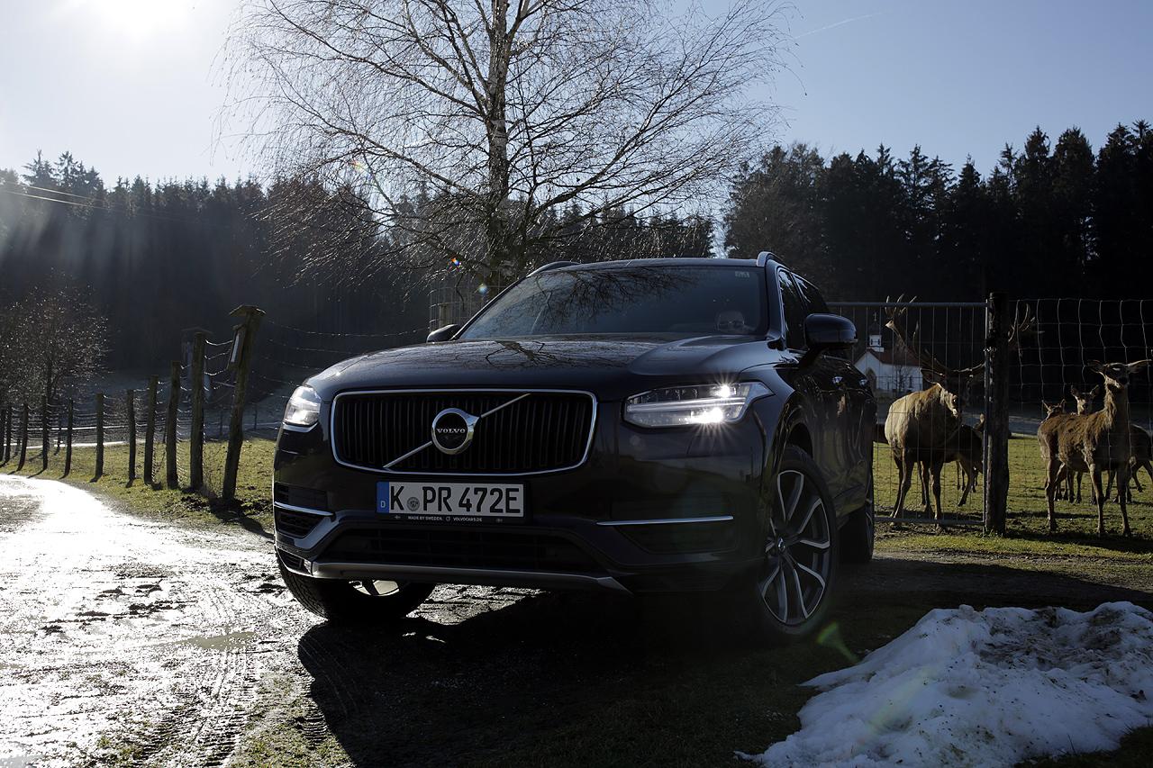 NewCarz Volvo XC90 Elchtest in Bayern