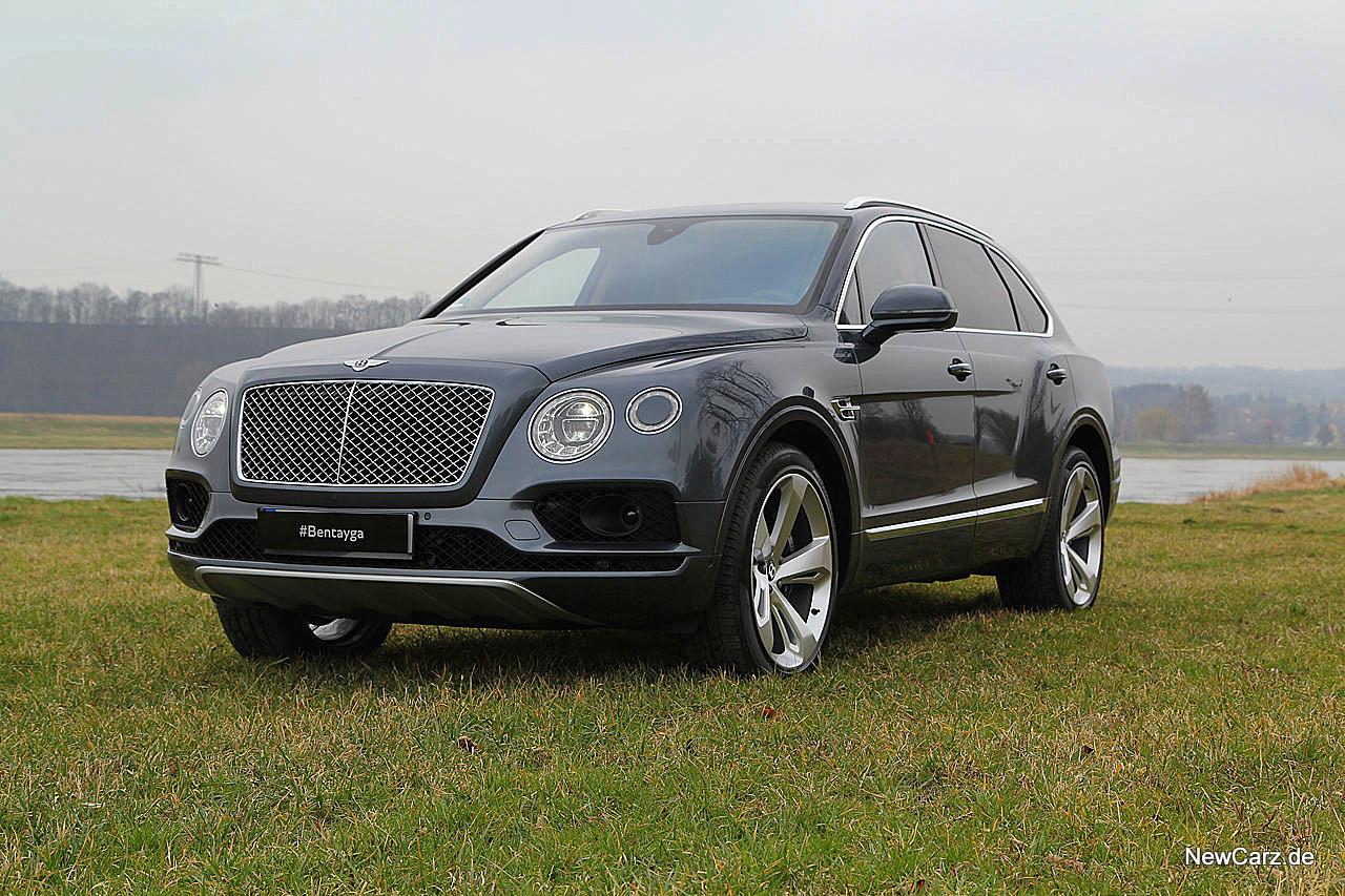 Bentley Bentayga - Erstkontakt mit einer neuen Ära ...