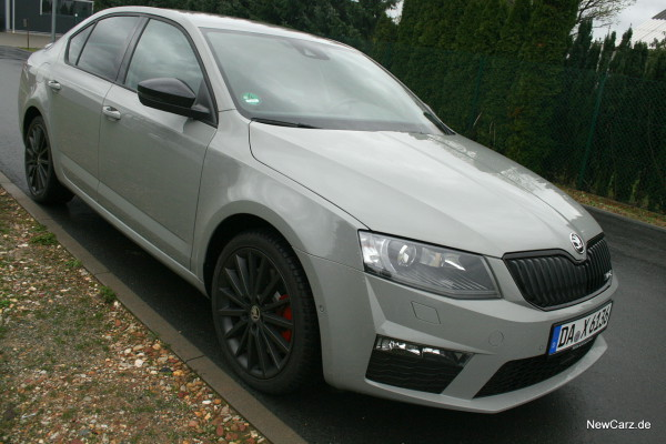 skoda octavia rs sparsamer dynamiker. Black Bedroom Furniture Sets. Home Design Ideas