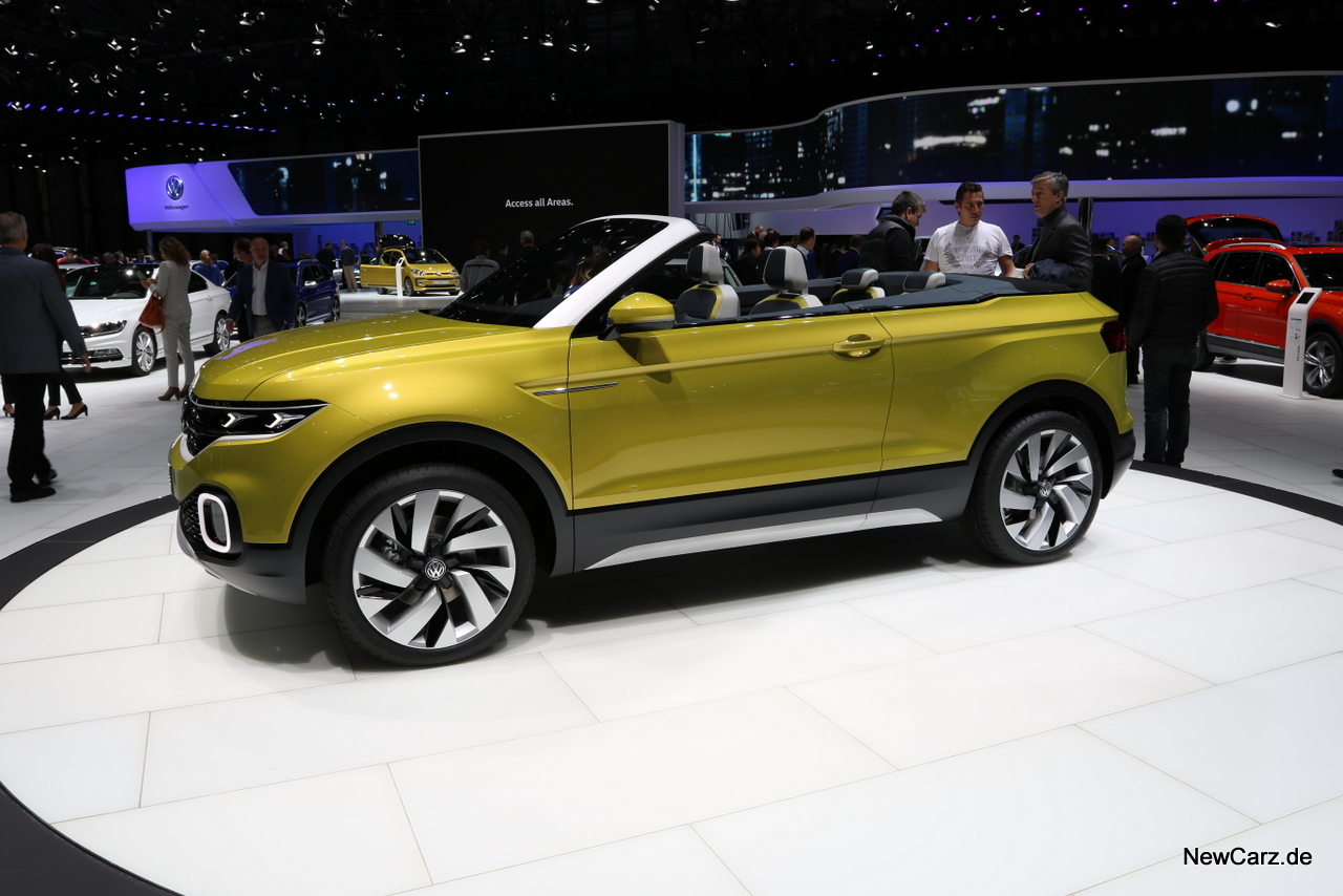 volkswagen t cross breeze suv meets cabrio. Black Bedroom Furniture Sets. Home Design Ideas