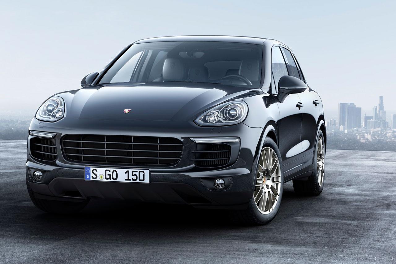 Porsche bringt Cayenne Platinum Edition