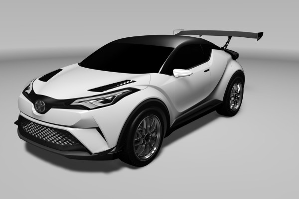 Die Rennversion de Toyota C-HR