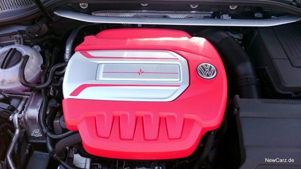 Motorabdeckung GTI