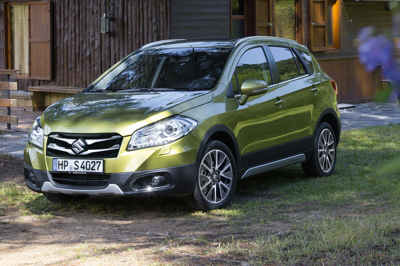 suzuki sx4 s cross ab september im handel. Black Bedroom Furniture Sets. Home Design Ideas