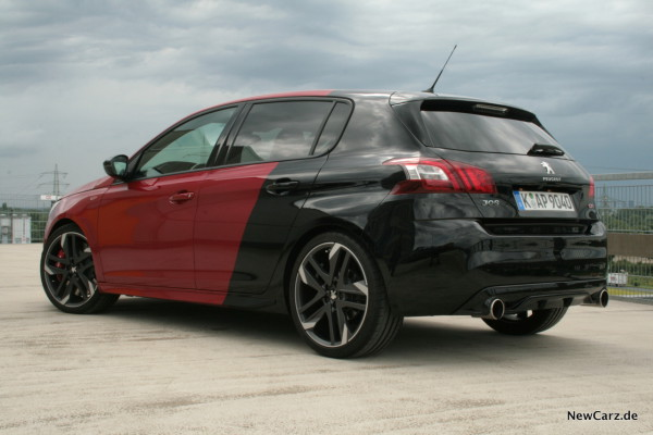 peugeot 308 gti kompaktwaffe aus frankreich. Black Bedroom Furniture Sets. Home Design Ideas