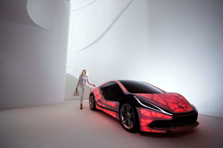 NewCarz EDAG Concept Car Light Cocoon