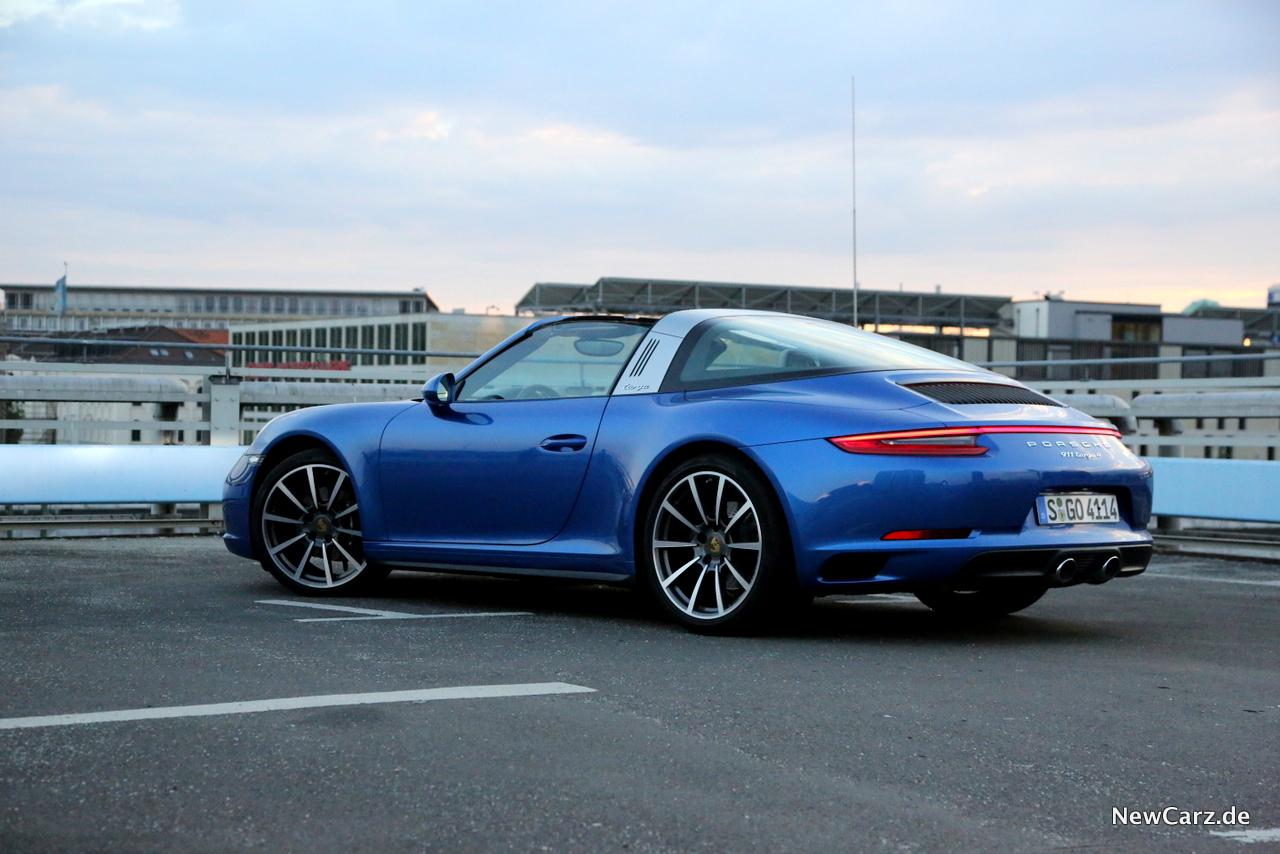 Porsche 911 Targa 4 Von Der Tradition In Die Moderne