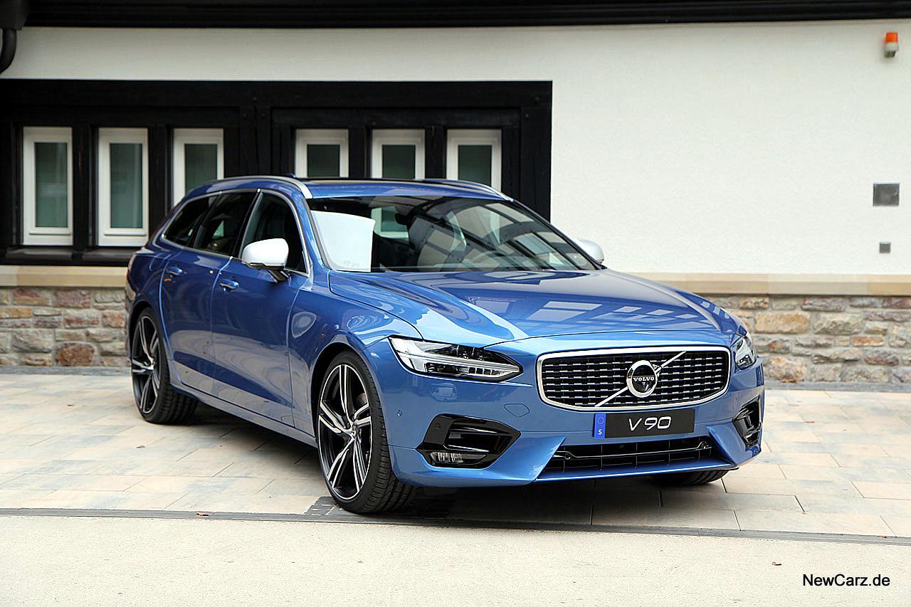 Volvo V90 - Erstkontakt mit schwedischem Premium-Kombi ...
