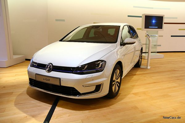 VW e-Golf Gläserne Manufaktur Dresden